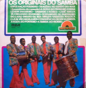 LP Os Originais Do Samba - Disco De Ouro (VINYL)