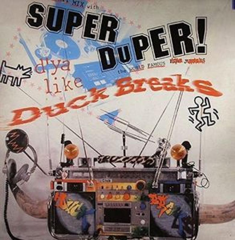 LP DJ Babu - Super Duper Duck Breaks (VINYL DE BATIDAS E EFEITOS IMPORTADO LACRADO)