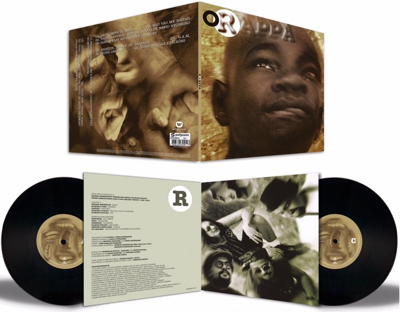 LP O Rappa - O RAPPA VINYL Duplo 180 Gramas LACRADO (7898324309113)
