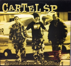 LP CARTEL SP - FUNKIDUBOM - VOLUME 1 (VINYL) rap nacional