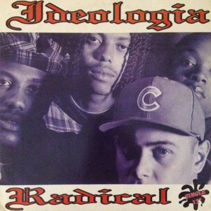 Lp Ideologia Radical Vinyl Single 12 Rap Nacional