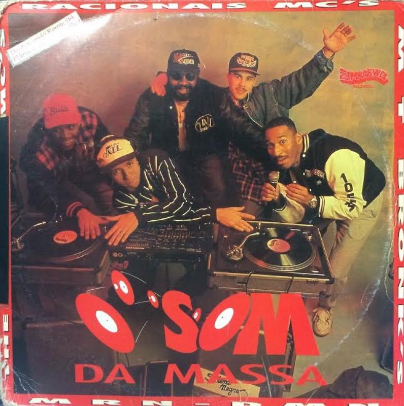 LP O Som Da Massa - VINYL RAP NACIONAL