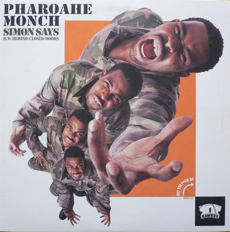 LP Pharoahe Monch - Simon Says Behind Closed Doors Vinyl Single Importado