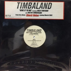 LP TIMBALAND FEAT NELLY FURTADO AND JUSTIN TIMBERLAKE - GIVE IT TOME VINYL IMPORTADO