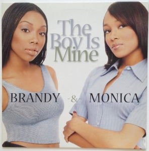 LP Brandy Monica - The Boy Is Mine Vinyl Single