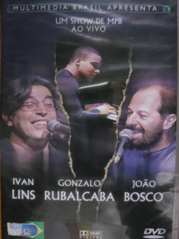 Ivan Lins Joao Bosco - Dvd Um Show De Mpb Ao Vivo (DVD)