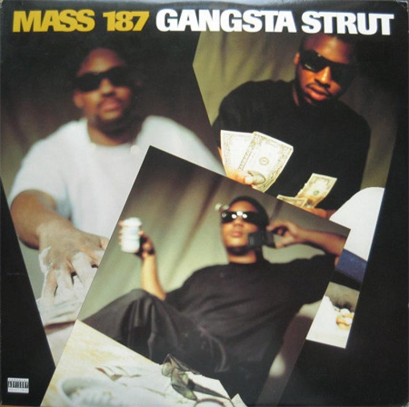 LP Mass 187 - Gangsta Strut VINYL SINGLE  IMPORTADO