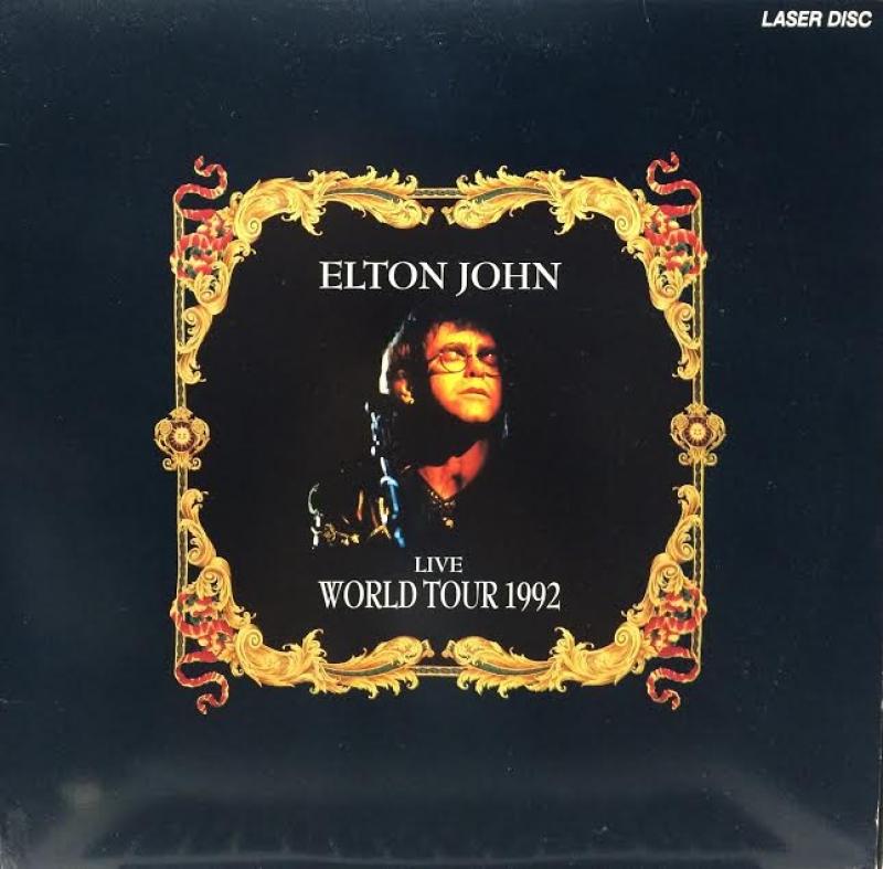 LP Elton John - Live World Tour 1992 LaserDisc
