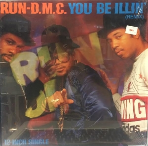 LP Run-DMC ‎– You Be Illin - Hit It Run VINYL SINGLE IMPORTADO