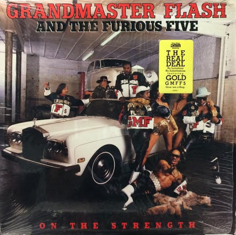 LP Grandmaster Flash And The Furious Five - On The Strength Vinyl Importado