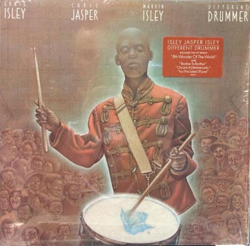 LP Isley Jasper Isley – Different Drummer VINYL IMPORTADO