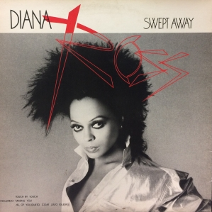 LP Diana Ross ‎– Swept Away VINYL