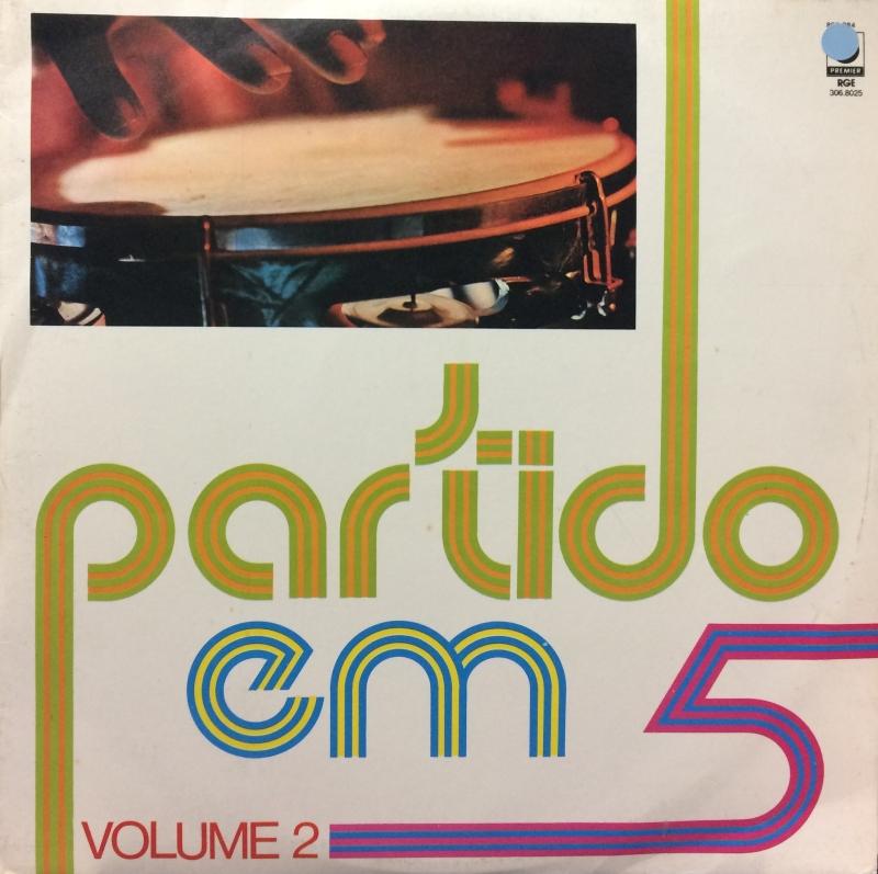 LP Partido Em 5 - Volume 2 ( Vinyl )