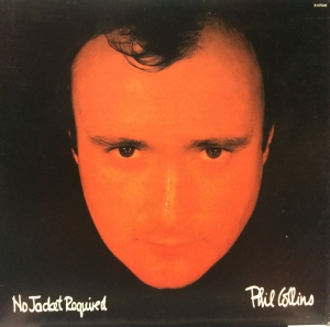 LP Phil Collins ‎– No Jacket Required VINYL