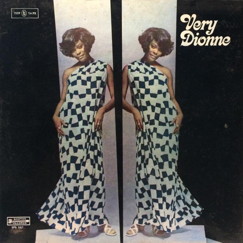 LP DIONNE WARWICK - VERY DIONNE VINYL