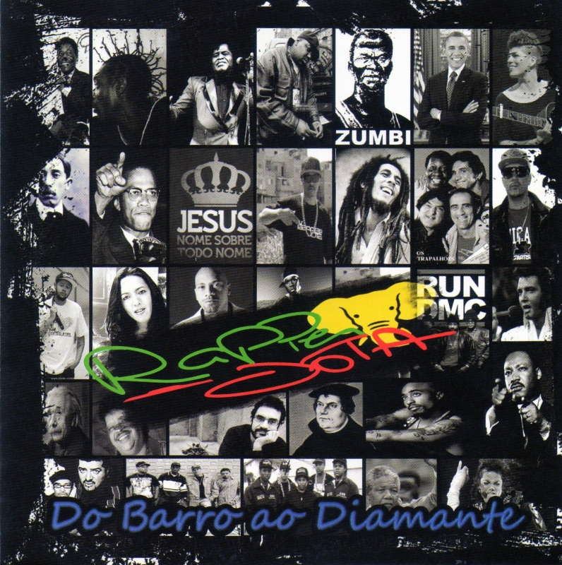 Rapper Jota - Do Barro Ao Diamante (CD)