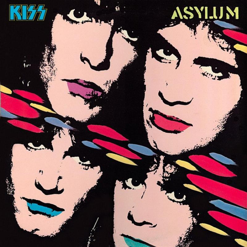 LP Kiss - Asylum 180 Gramas Lacrado Importado