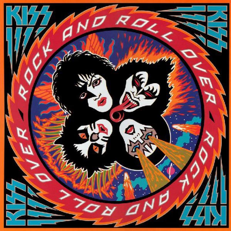 LP Kiss - Rock And Roll Over Importado Lacrado 180 Gramas