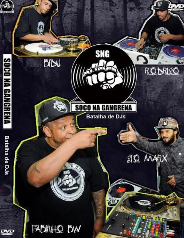 SOCO NA GANGRENA A BATALHA DE DJS (DVD)