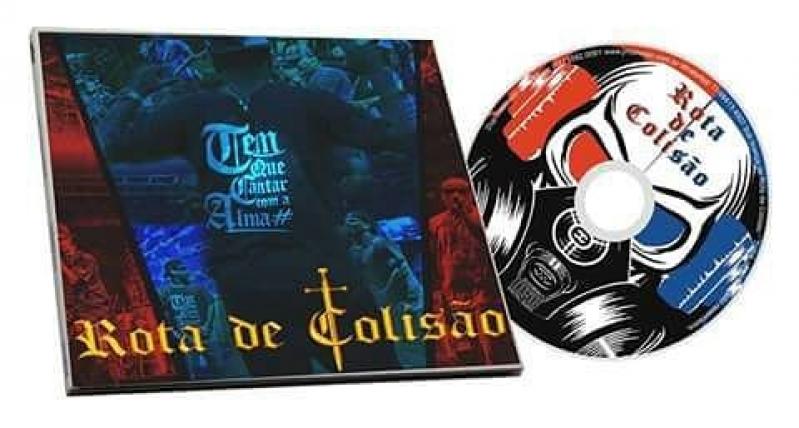 ROTA DE COLISAO - TEM QUE CANTAR COM A ALMA (CD)