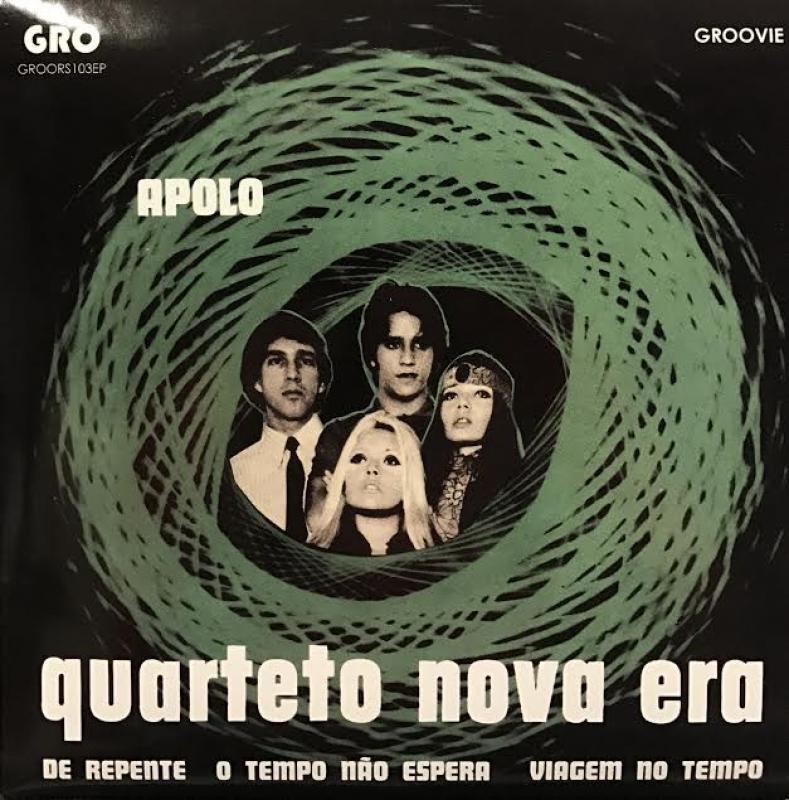LP Quarteto Nova Era - Apolo Ep VINYL compacto + POSTER 7 POLEGADA
