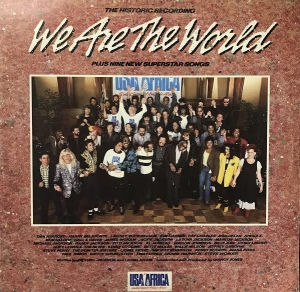 LP WE ARE THE WORLD - USA FOR AFRICA VINYL