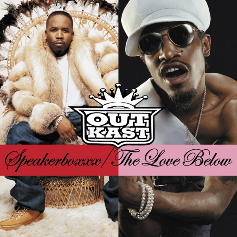 OUTKAST - Speakerboxxx Love Below (CD DUPLO)