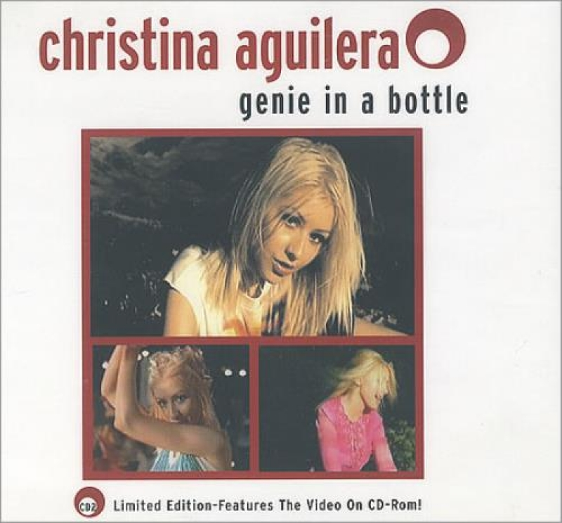 Christina Aguilera Genie In A Bottle CD SINGLE Importado