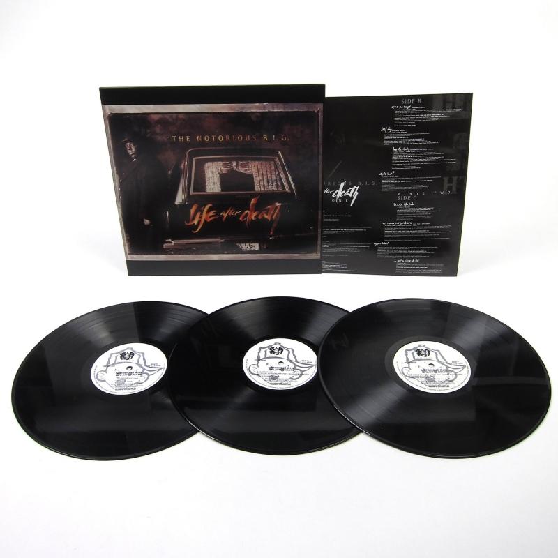 LP THE NOTORIOUS BIG - Life After Death 3 VINYL IMPORTADO (LACRADO)