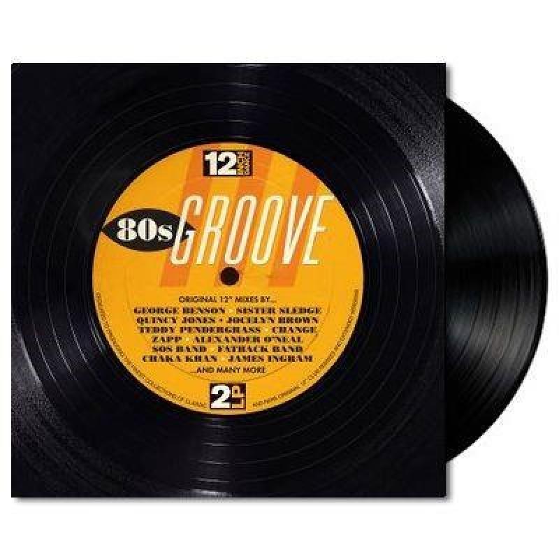 LP 12 Inch Dance 80s Groove - VINYL DUPLO IMPORTADO LACRADO