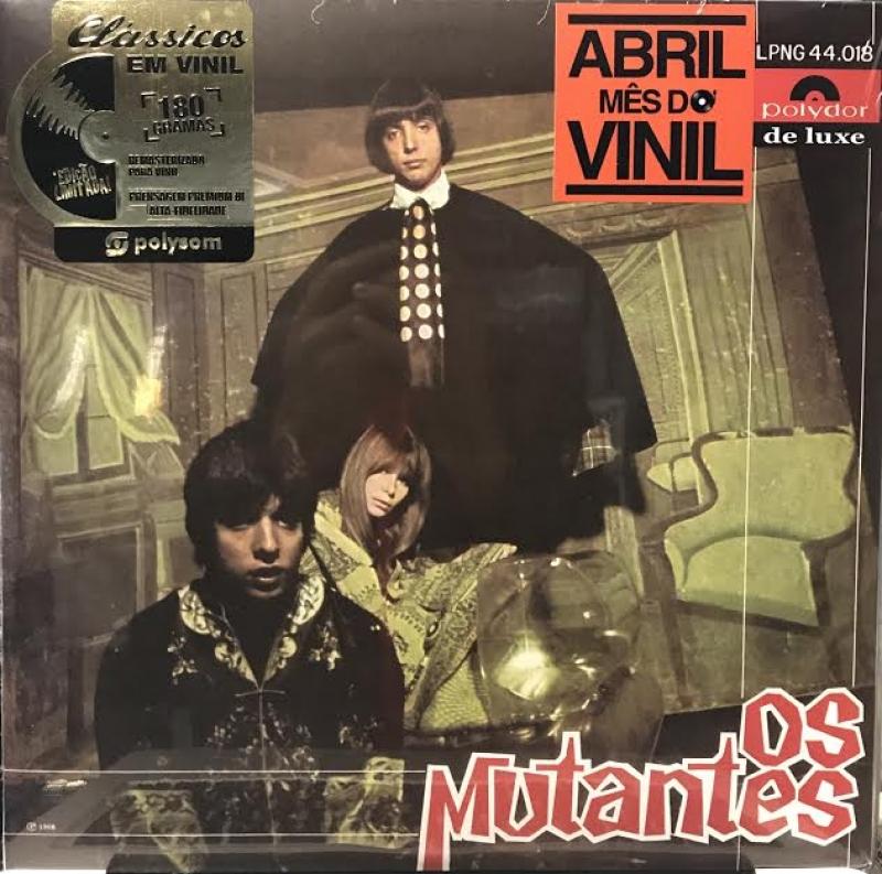 LP Os Mutantes - Os Mutantes 180 Gramas (1968)180 Gramas (LACRADO)
