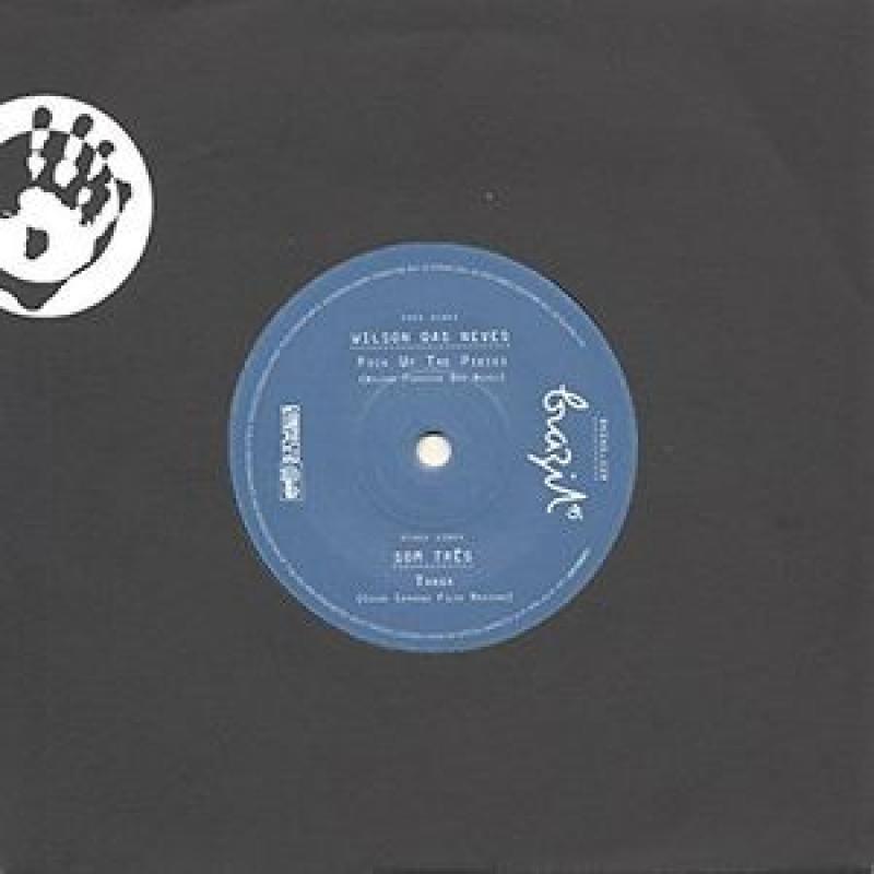 LP Wilson das Neves - Pick Up The Pieces Som Tres Tanga ( Vinyl 7 Polegadas )