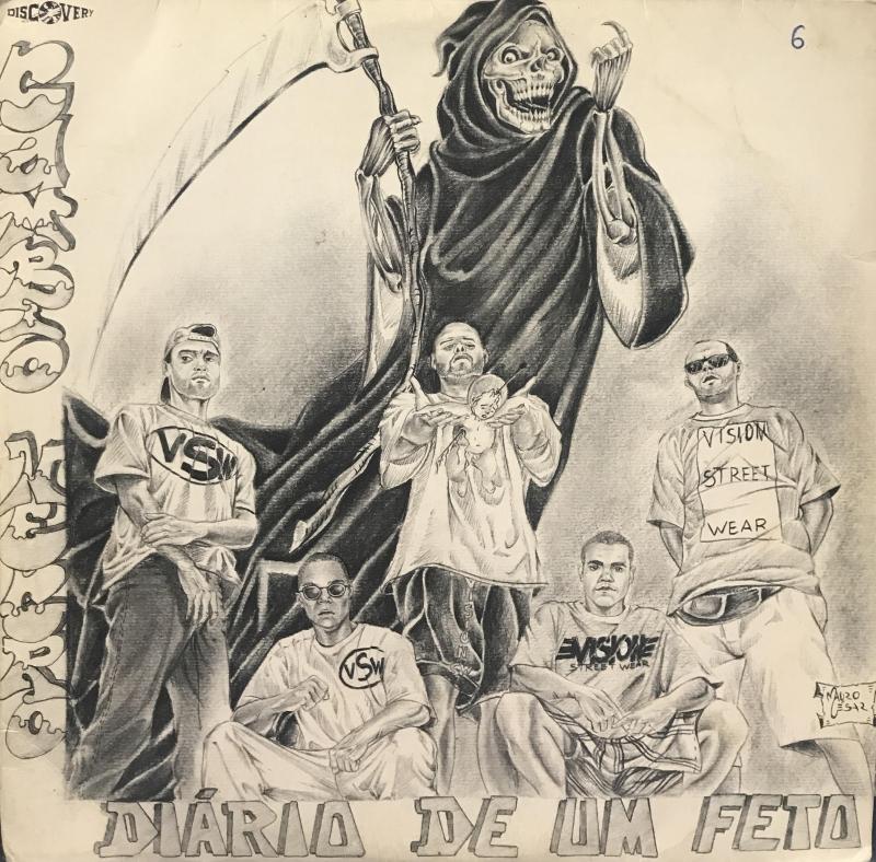 LP Cambio Negro - Diario de um feto VINYL