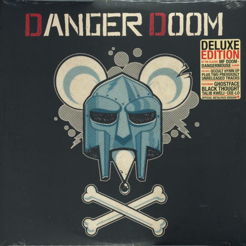 LP Danger Doom - The Mouse And The Mask VINYL TRIPLO IMPORTADO LACRADO