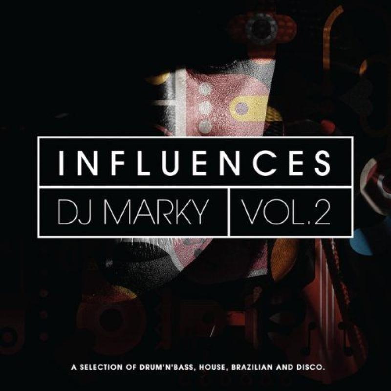 LP DJ Marky - Influences Vol 2 ( VINYL DUPLO IMPORTADO LACRADO )