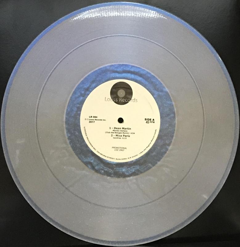 LP LOOSS RECORDS VOL 4 - VINYL TRANSPARENTE (45RPM) IMPORTADO
