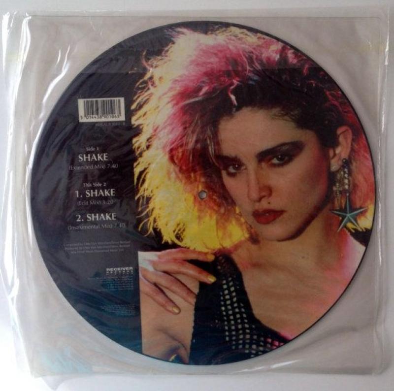 LP Madonna - Shake ( VINYL PICTURE )