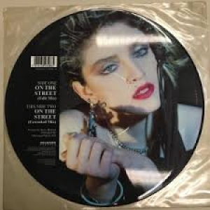 LP Madonna - On The Street ( Vinyl Picture )