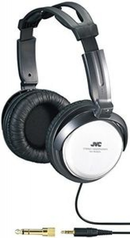 FONE Jvc Harx500 Full-size Around Ear Headphone 40mm Neodymium driver Twist action structure for com
