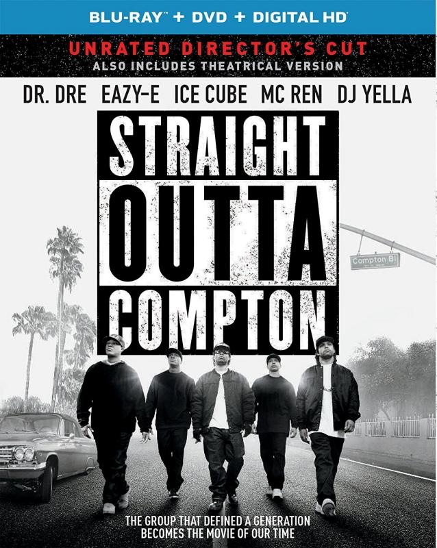 Straight Outta Compton ( Blu-ray + DVD + DIGITAL HD ) IMPORTADO