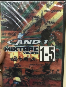 And1 Mixtape Vol 1-5 Special Edition Basket Streetball (DVD)