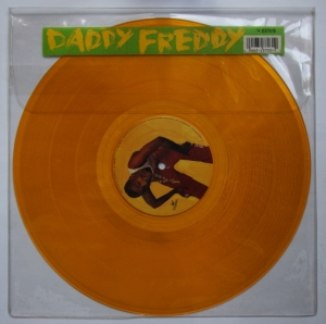LP Daddy Freddy - In Town We Are The Champions ( VINYL AMARELO )