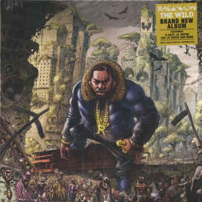 LP Raekwon - The Wild VINYL IMPORTADO LACRADO