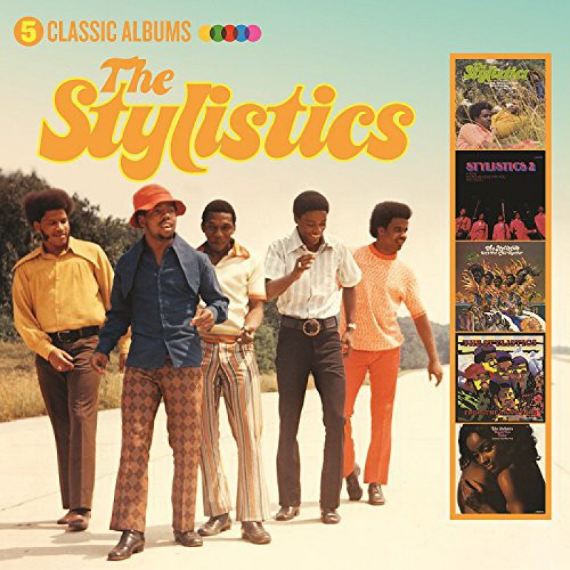 The Stylistics - 5 Classic Albums CD Importado Lacrado