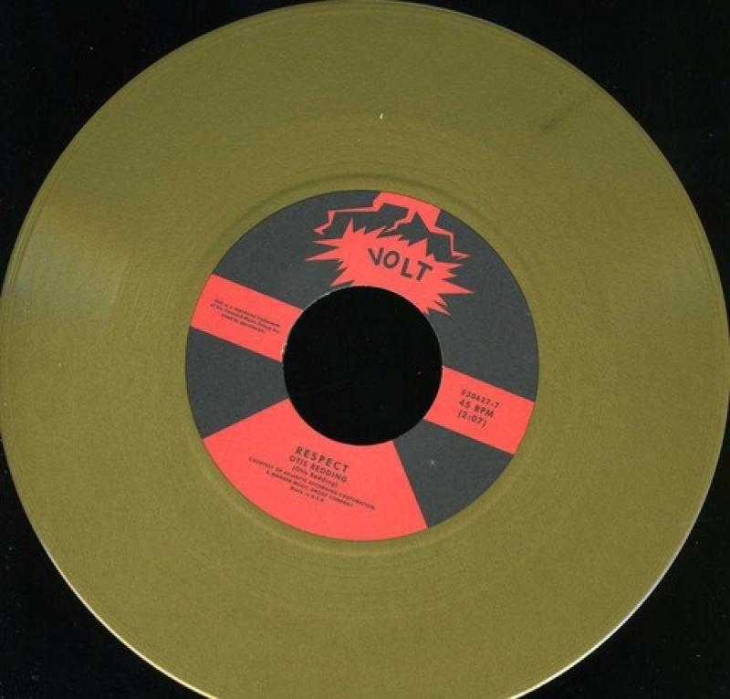 LP Aretha Franklin E Otis Redding - Respect COMPACTO 7 VINYL COLORIDO