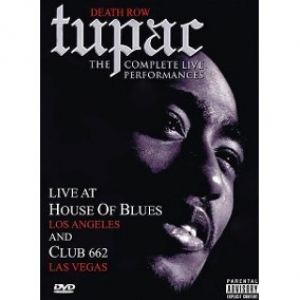 2 PAC TUPAC - THE COMPLETE LIVE PERFORMANCES DVD DUPLO