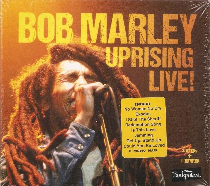 Bob Marley - Uprising Live! - 2Cd s+1dvd Novo LACRADO