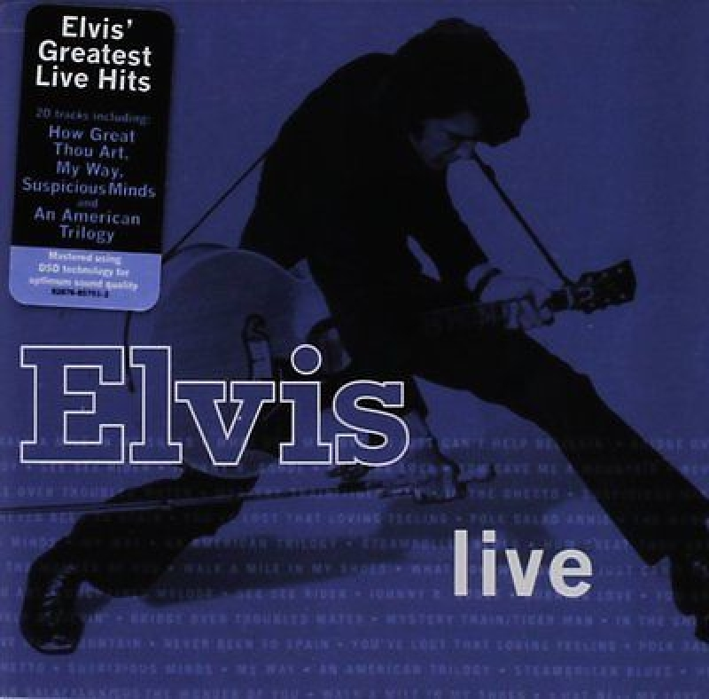 ELVIS PRESLEY - Elvis Greatest Hits Live (CD) IMPORTADO