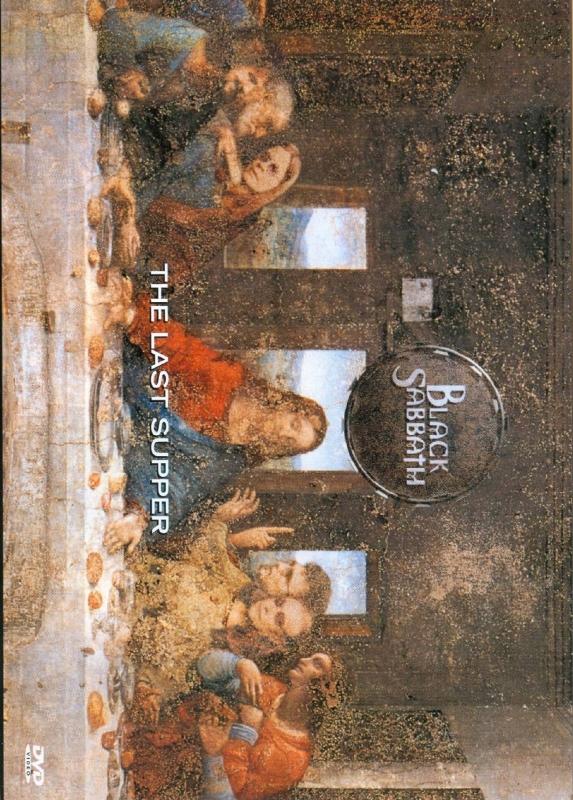 Black Sabbath - The Last Supper DVD (LACRADO)
