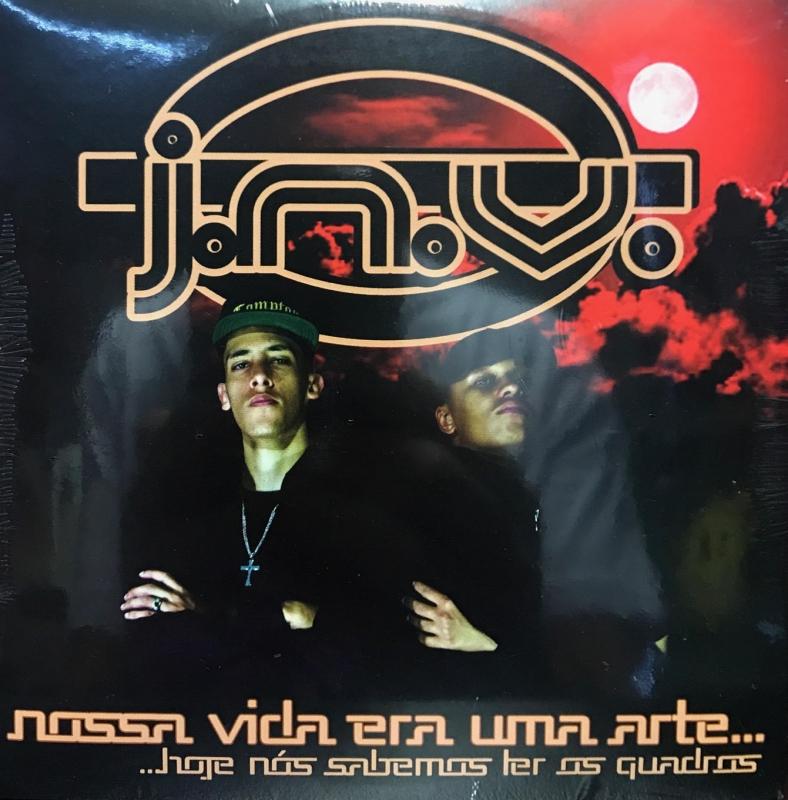 J.N.V. - NOSSA VIDA ERA UMA ARTE (CD) RAP NACIONAL